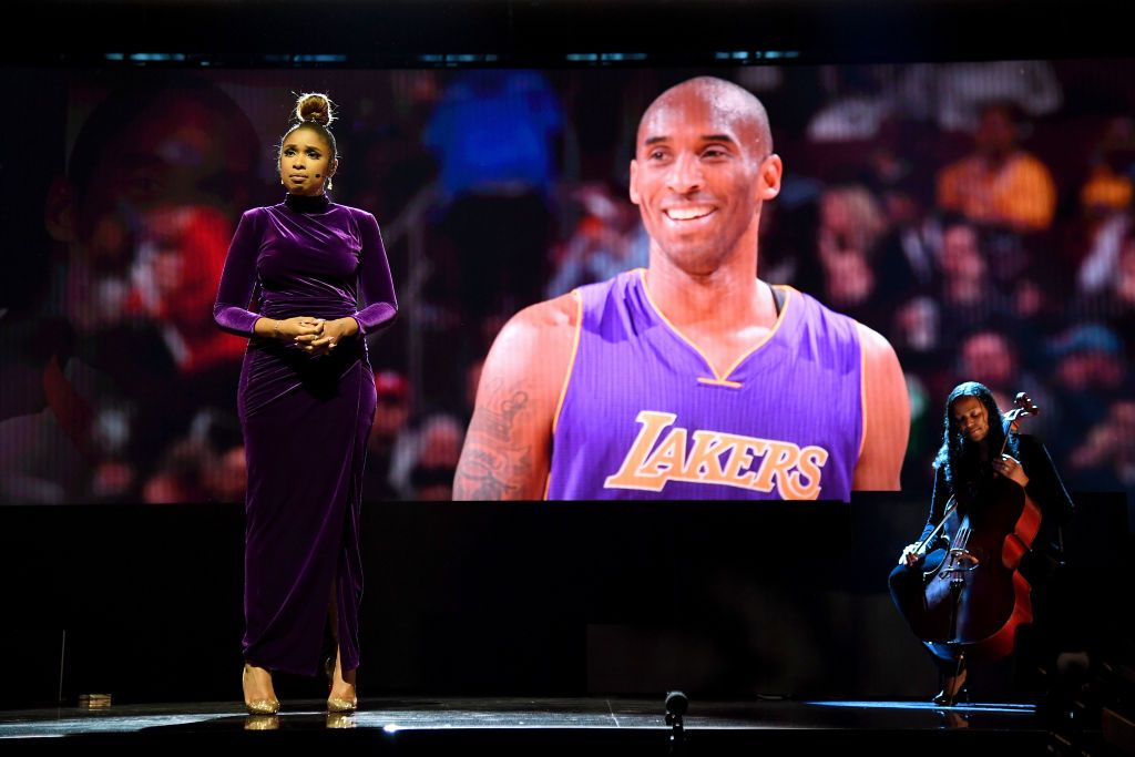 At the NBA All-Star Game, Chance the Rapper, Magic Johnson, Jennifer Hudson, and Common Paid Tribute to Kobe Bryant