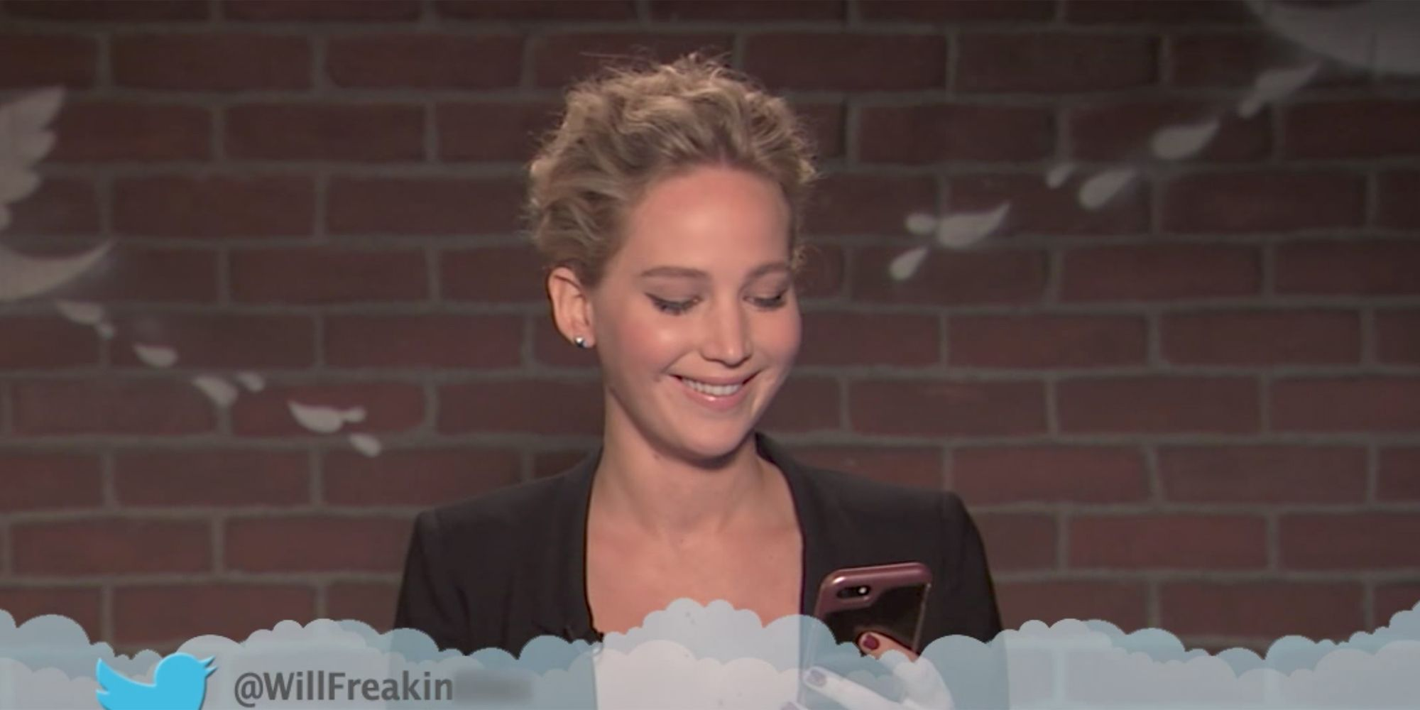 Jennifer Lawrence Isn't Here for Your Mean Tweets