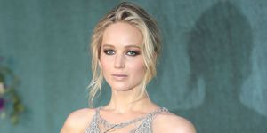 Jennifer Lawrence op een rodeloperfeest