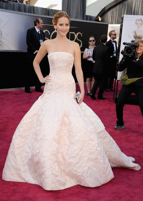 Let\'s all take a look at Jennifer Lawrence\'s Oscars transformation