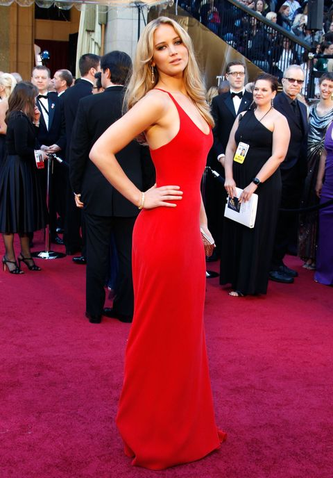 Let's all take a look at Jennifer Lawrence's Oscars transformation