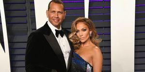 Jennifer Lopez en Alex Rodriguez