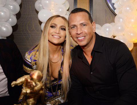 Jennifer Lopez en Alexander Rodriguez