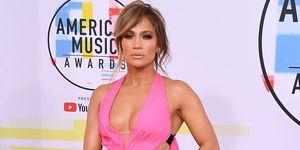 Jennifer Lopez at the 2018 AMAs