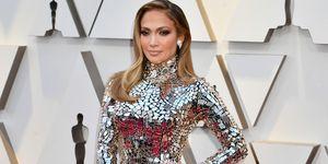 Jennifer Lopez tijdens Oscars