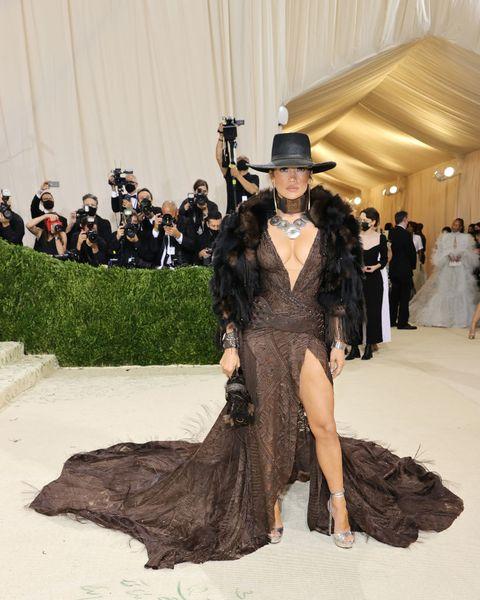 Jennifer Lopez at 2021 Met Gala