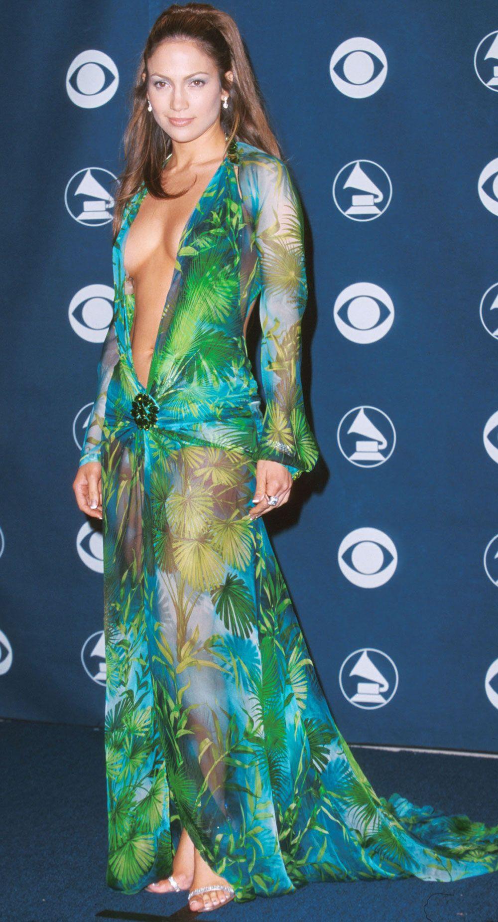 Jennifer Lopez Grammy's dress
