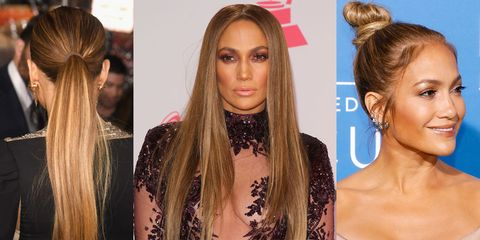 Jennifer Lopez hair: How to get the perfect Jennifer Lopez honey ...