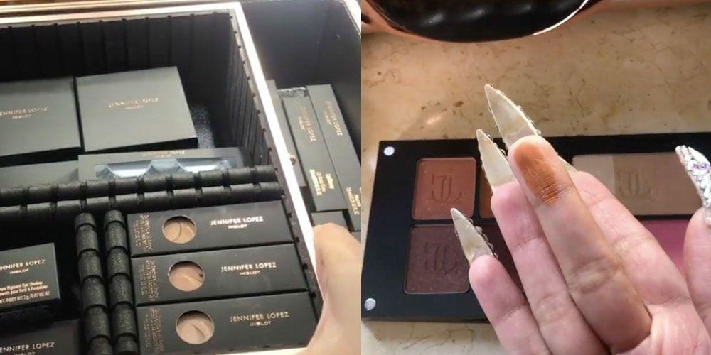 Cardi B Just Leaked Jennifer Lopez S Entire Makeup Line On Her Instagram