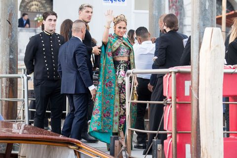 celebrity sightings during the dolce and gabbana alta moda in venice