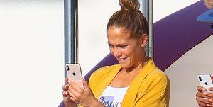 Jennifer Lopez de vacaciones en yate
