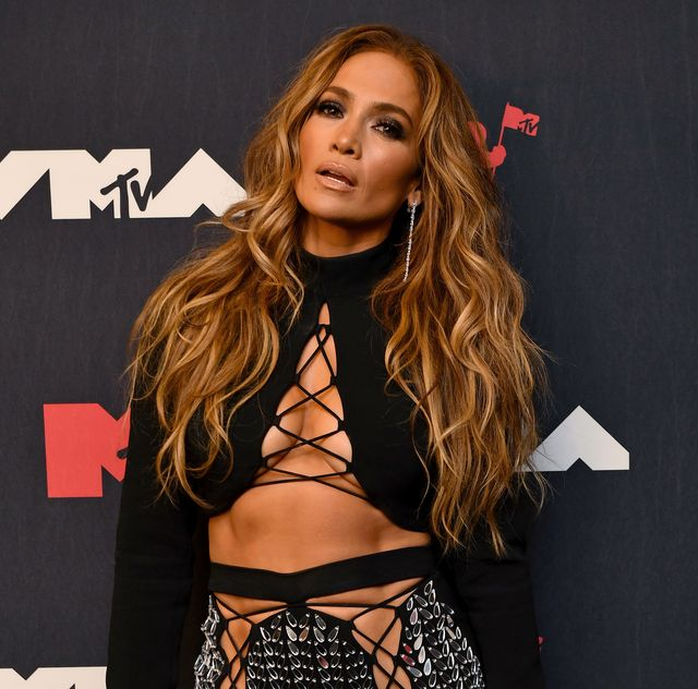 new york, new york   september 12 jennifer lopez attends the 2021 mtv video music awards at barclays center on september 12, 2021 in the brooklyn borough of new york city  photo by noam galaimtv vmas 2021getty images for mtvviacomcbs
