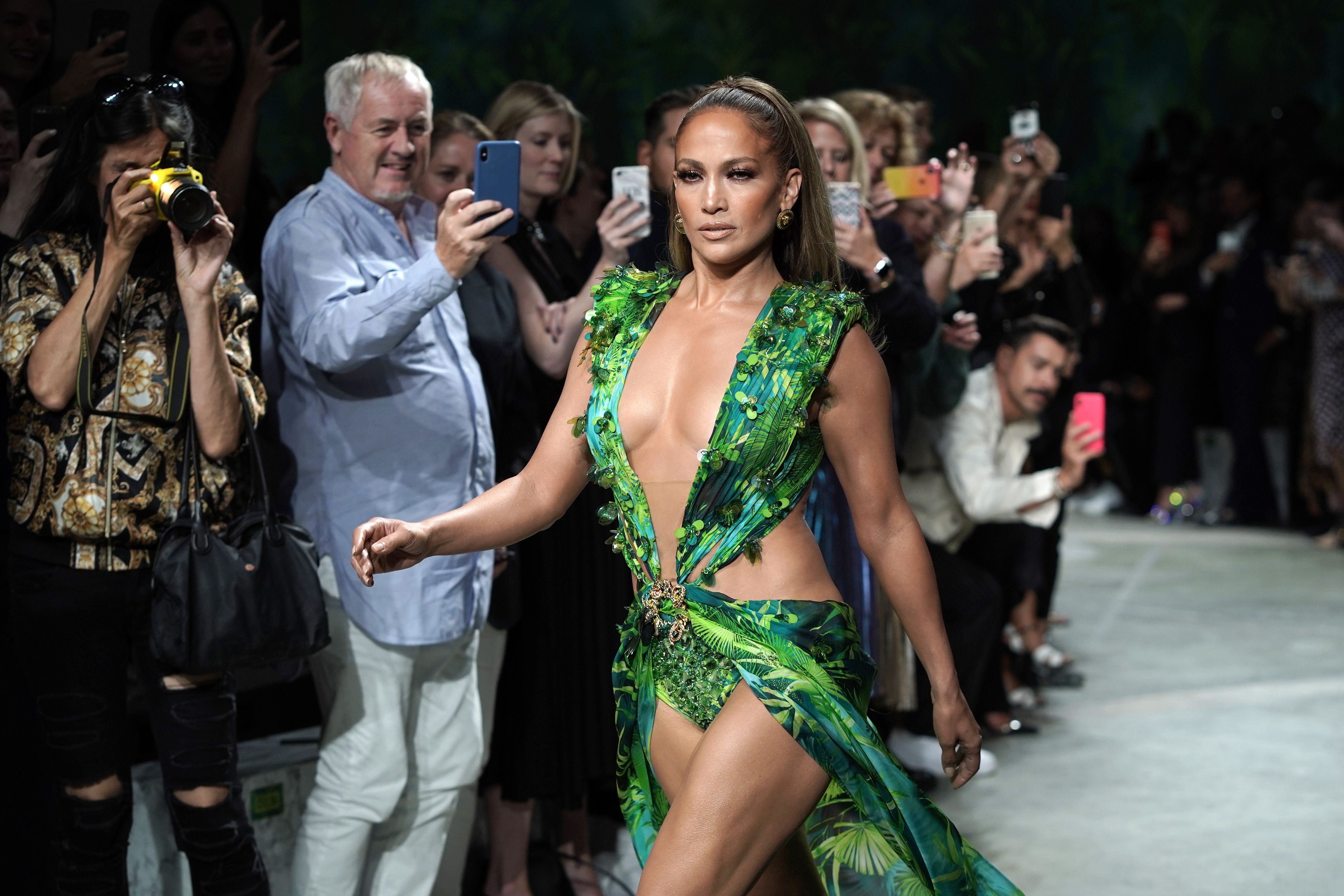 Jennifer Lopez Explains Exactly How She Felt Wearing That Versace Dress the First and Second Time