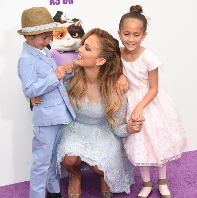 Jennifer Lopez Arod S Kids Look So Sweet In These Family Photos