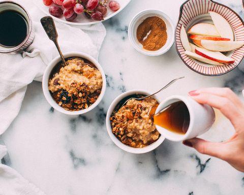 Food, Cuisine, Meal, Dish, Breakfast, Granola, Ingredient, Brunch, Superfood, Crumble,