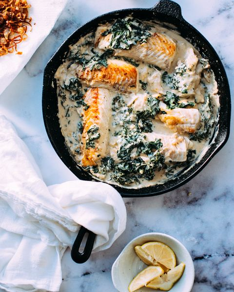 Dish, Food, Cuisine, Ingredient, Comfort food, Produce, Recipe, Side dish, Brunch, Creamed spinach,