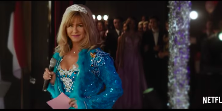 Jennifer Aniston in de film Dumplin' op Netflix