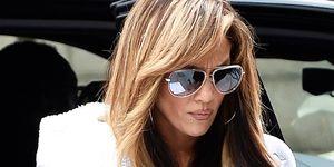 Jennifer Lopez en bata