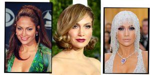 Jennifer Lopez best hair and makeup looks