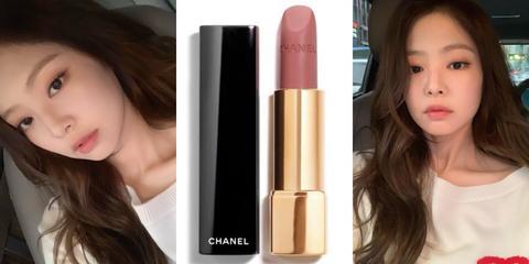 BLACKPINK,Jennie,lipstick,鮭魚粉,香奈兒,chanel62,金珍妮,香奈兒口紅,口紅,女星唇色,女星擦什麼,beauty