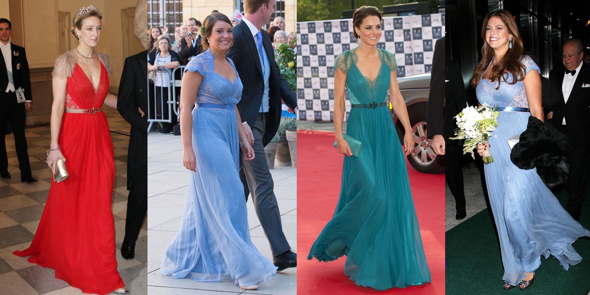 10 Times Royals Wore The Same Outfits Royal Women In The Same Dress