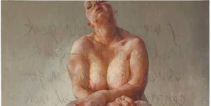 Jenny Saville, la artista eclipsada por Bansky