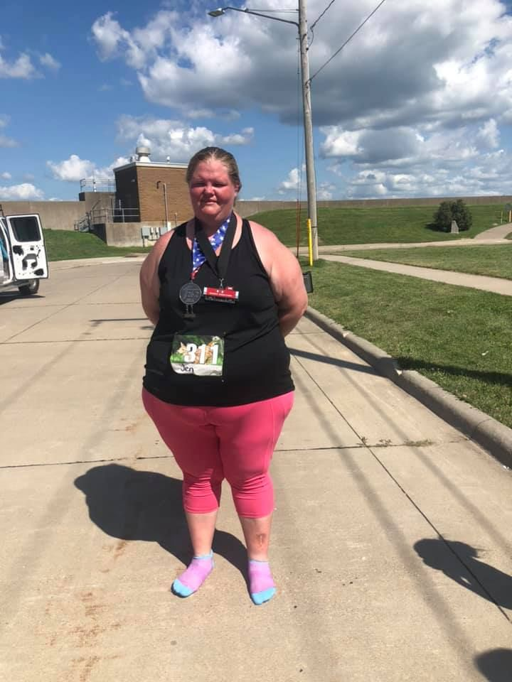 Heaviest Woman to Finish Marathon Proves That Anyone Can Run