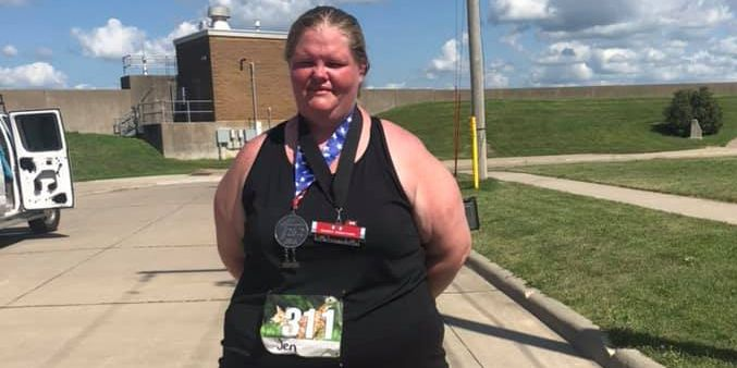 The Heaviest Woman to Finish a Marathon Proves That Anyone Can Run