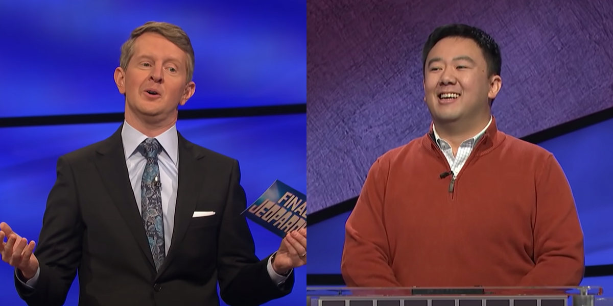 Watch Ken Jennings Get Owned by a Witty 'Jeopardy!' Contestant's Final Answer