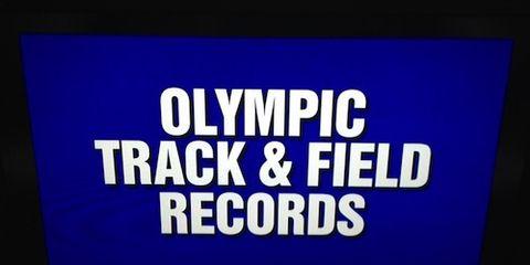 Jeopardy! Olympic Track & Field