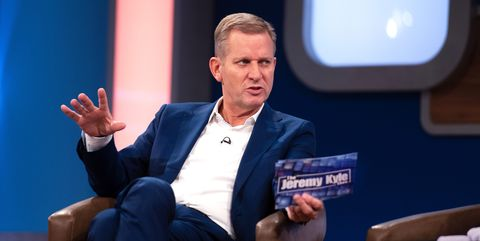 2b2a1b8fb Jeremy Kyle guest strips off to reveal her Jezza tattoo