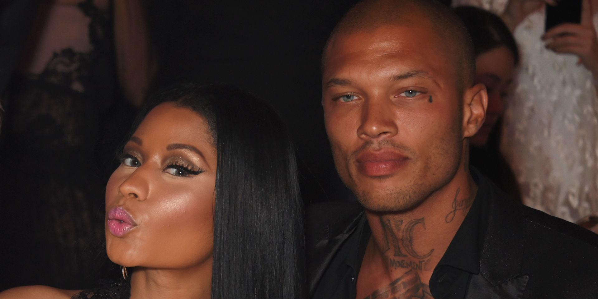 'Hot Felon' Jeremy Meeks and His Beautiful Pecs Just Hung Out With Nicki Minaj in Cannes