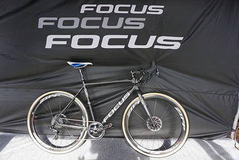 A prototype frame from Focus looks stealthy.