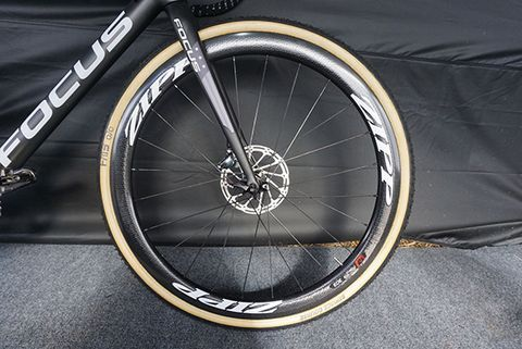 Jeremy has had a long-time relationship with Zipp wheels.