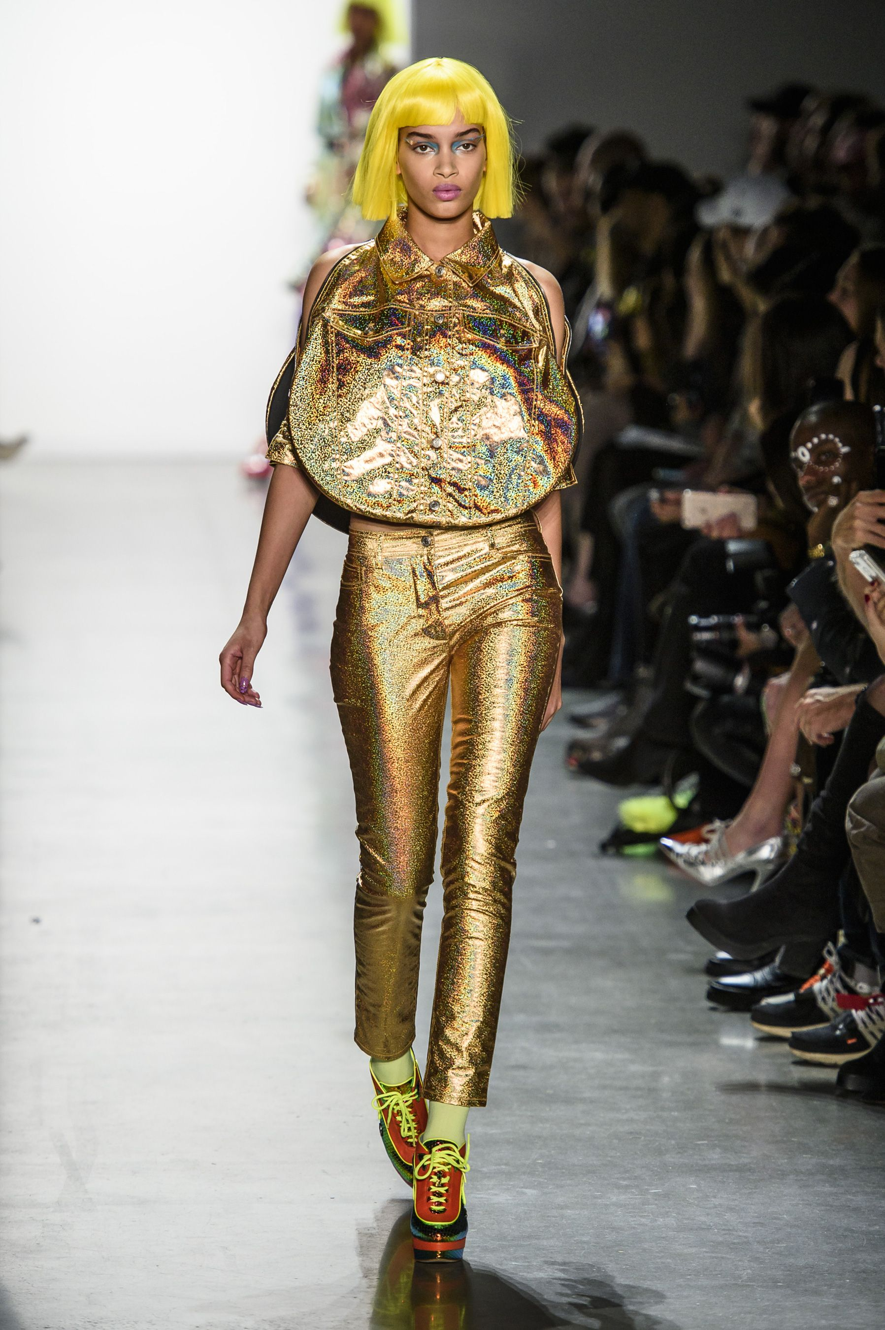 f4e5736ed968 66 Looks From Jeremy Scott Fall 2018 NYFW Show – Jeremy Scott Runway at New  York Fashion Week