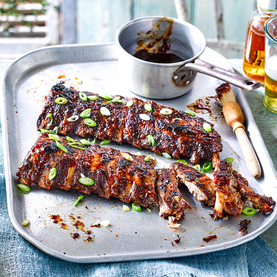 Sticky BBQ pork ribs