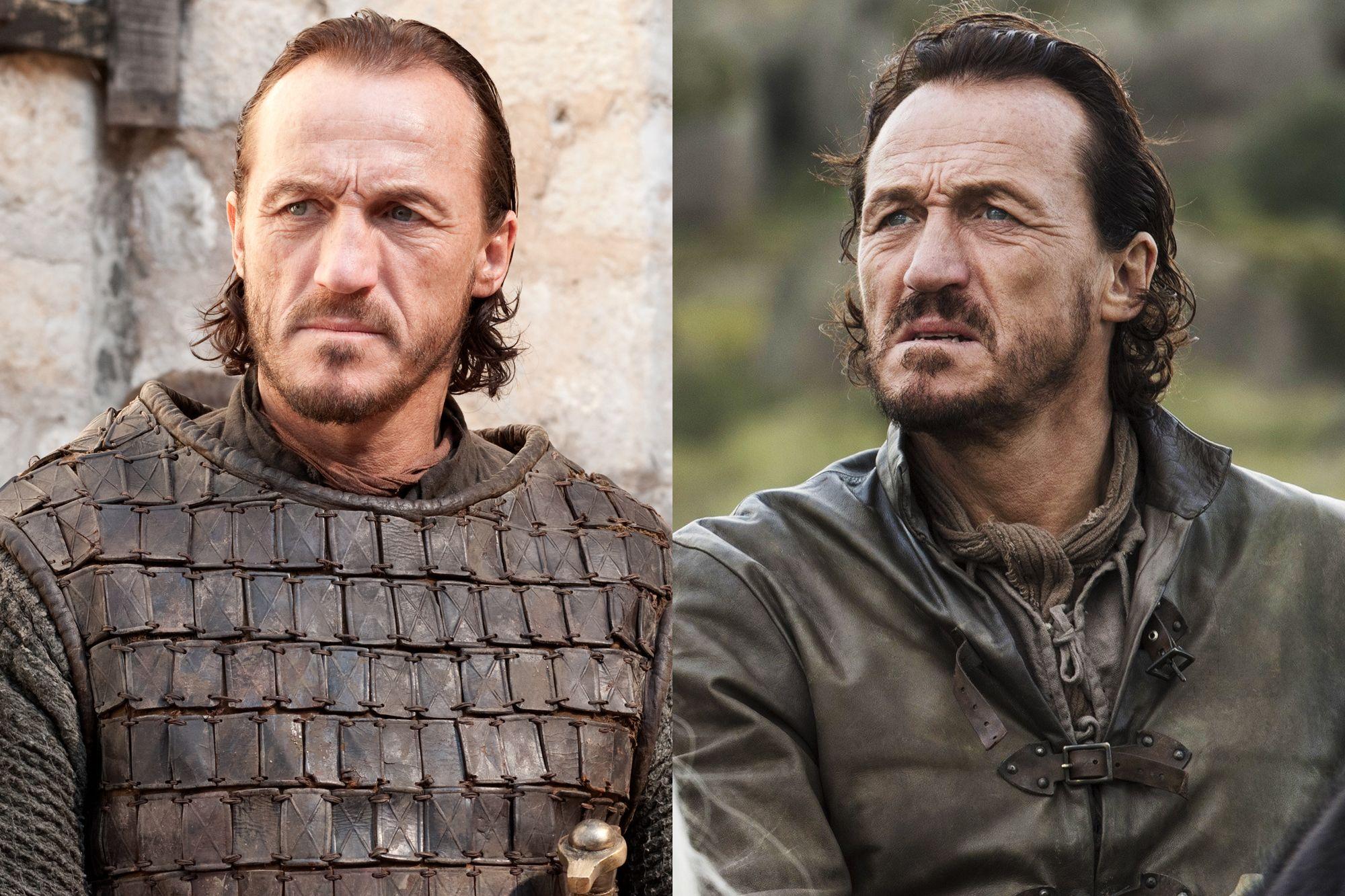 Jerome Flynn as Bronn Season One to Season Eight.