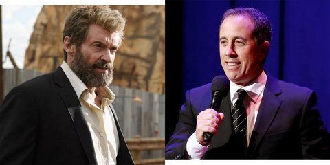 e9333d56e8c Jerry Seinfeld Convinced Hugh Jackman to Retire as Wolverine
