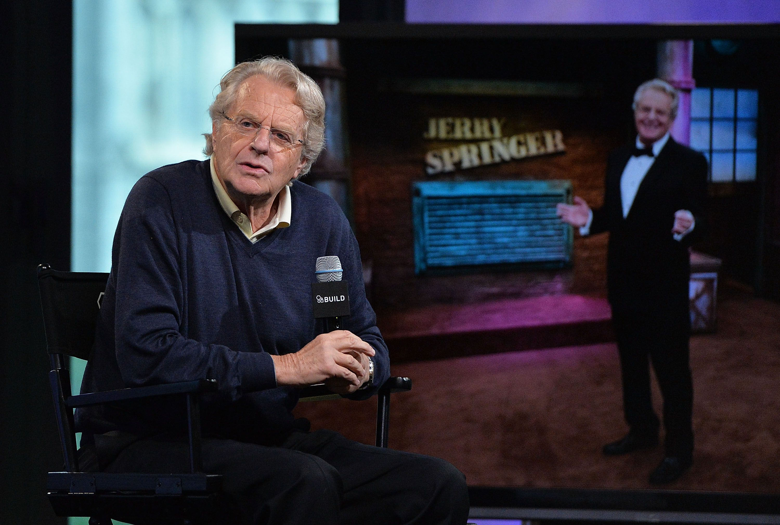 Jerry Springer defends his show following the deaths of two guests