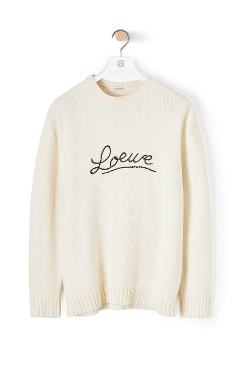 Jersey de punto de Loewe (650 euros)