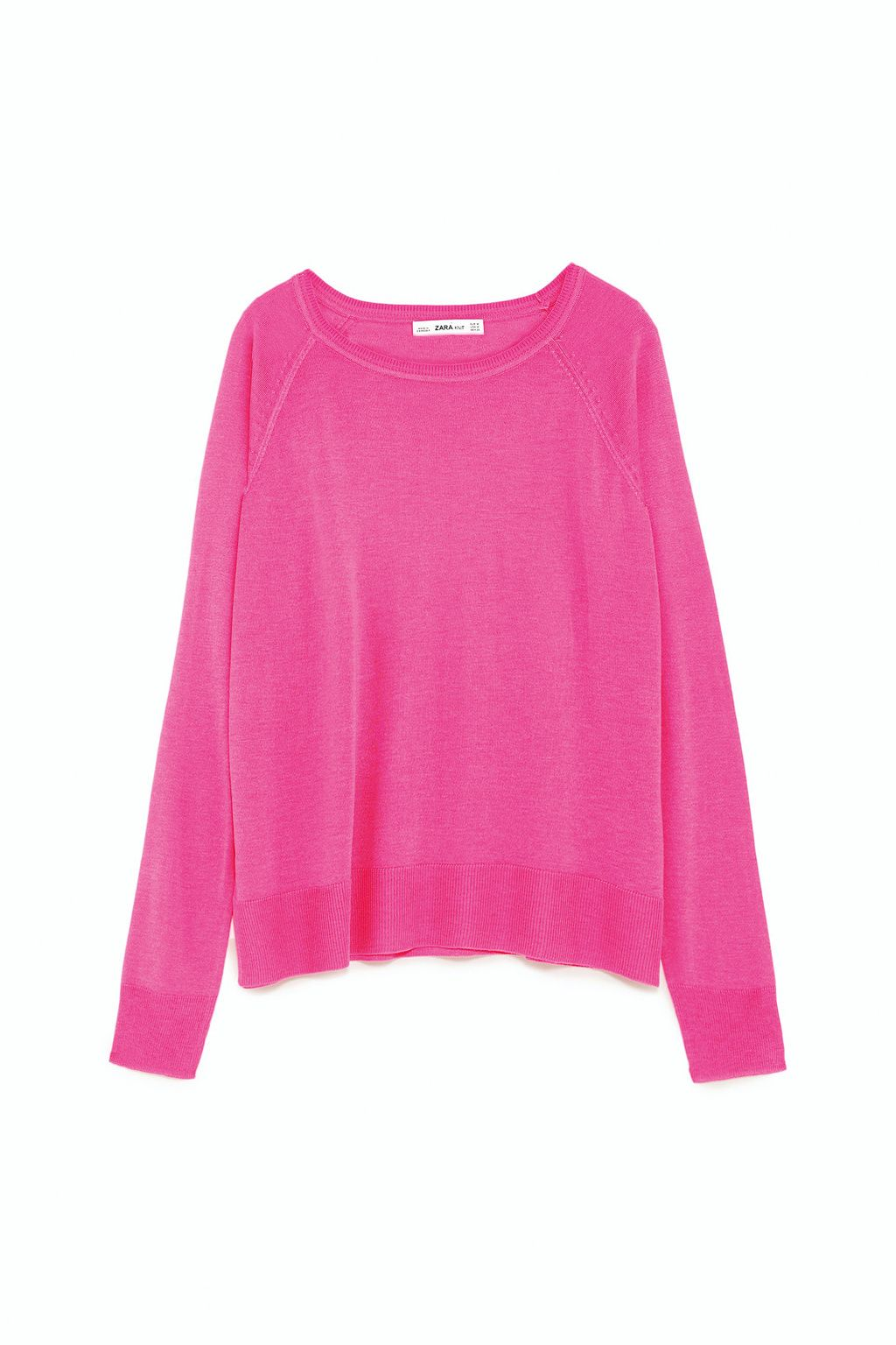Jersey rosa de Zara.