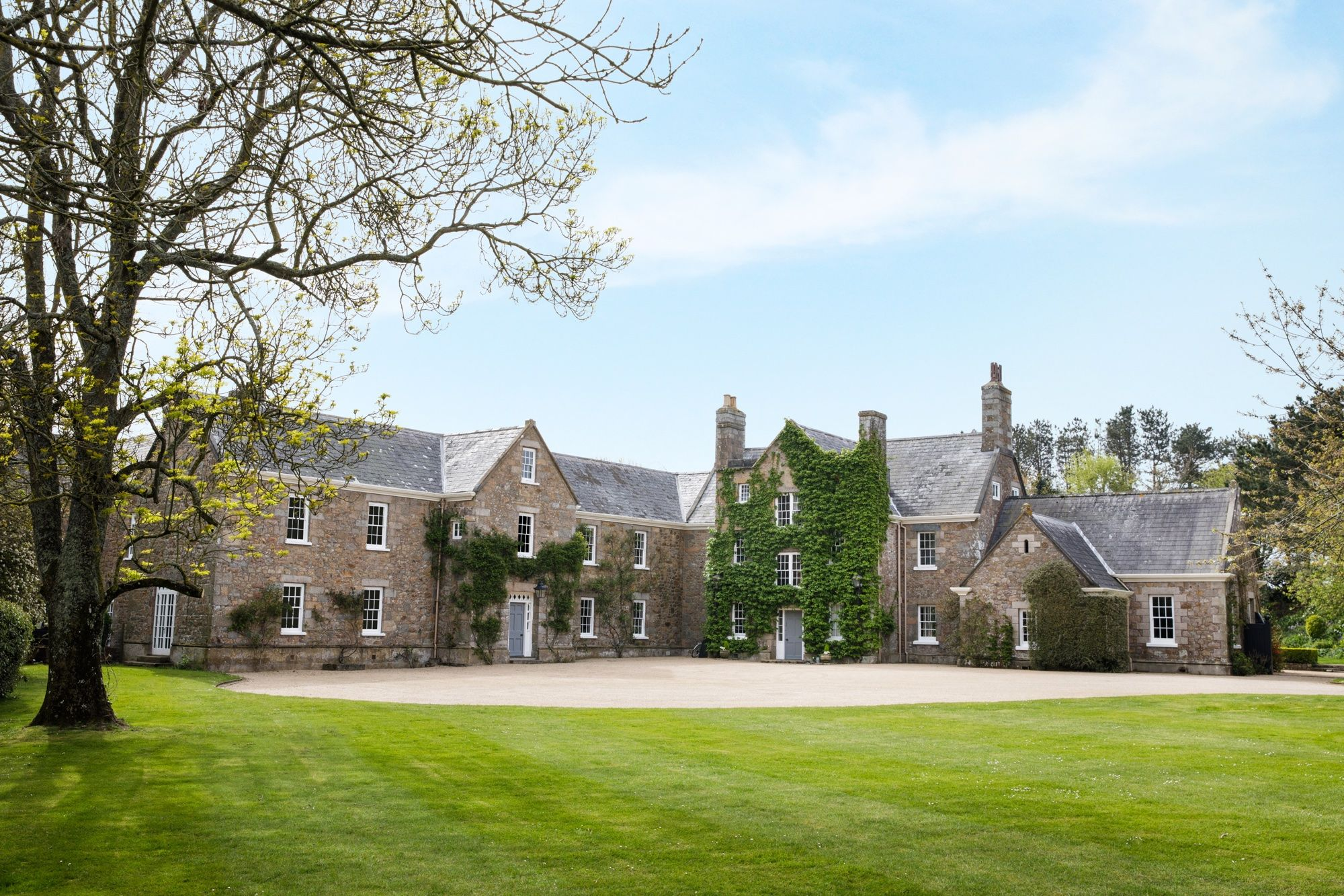 Magnificent Grade II listed manor for sale in Jersey countryside