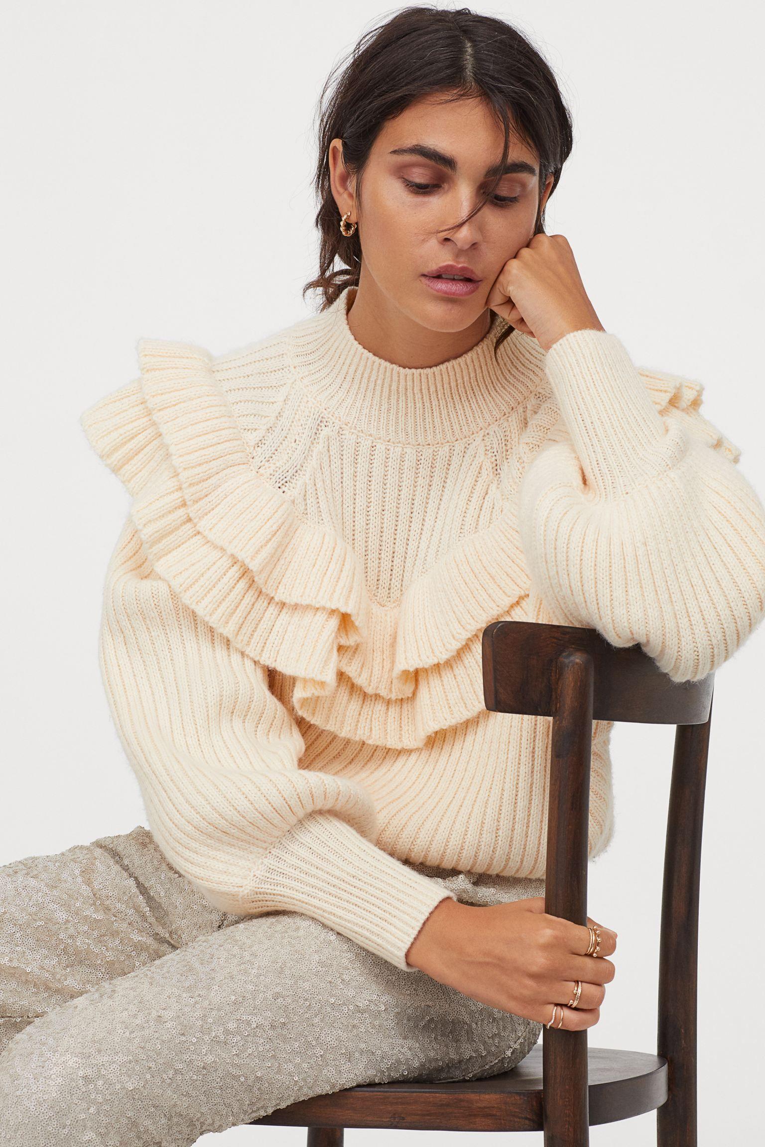 Modas absurdas de nuestros días - Página 7 Jersey-mujer-blanco-baratro-hm-elle-b-1607015712