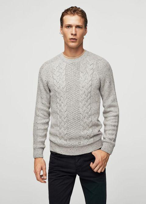 punto, jersey, sueter, cardigan, cuello alto, ochos, chaqueta, pullover, lana, algodón, otoño, invierno, ropa hombre, jersey hombre, sueter hombre, cardigan hombre, chaqueta hombre
