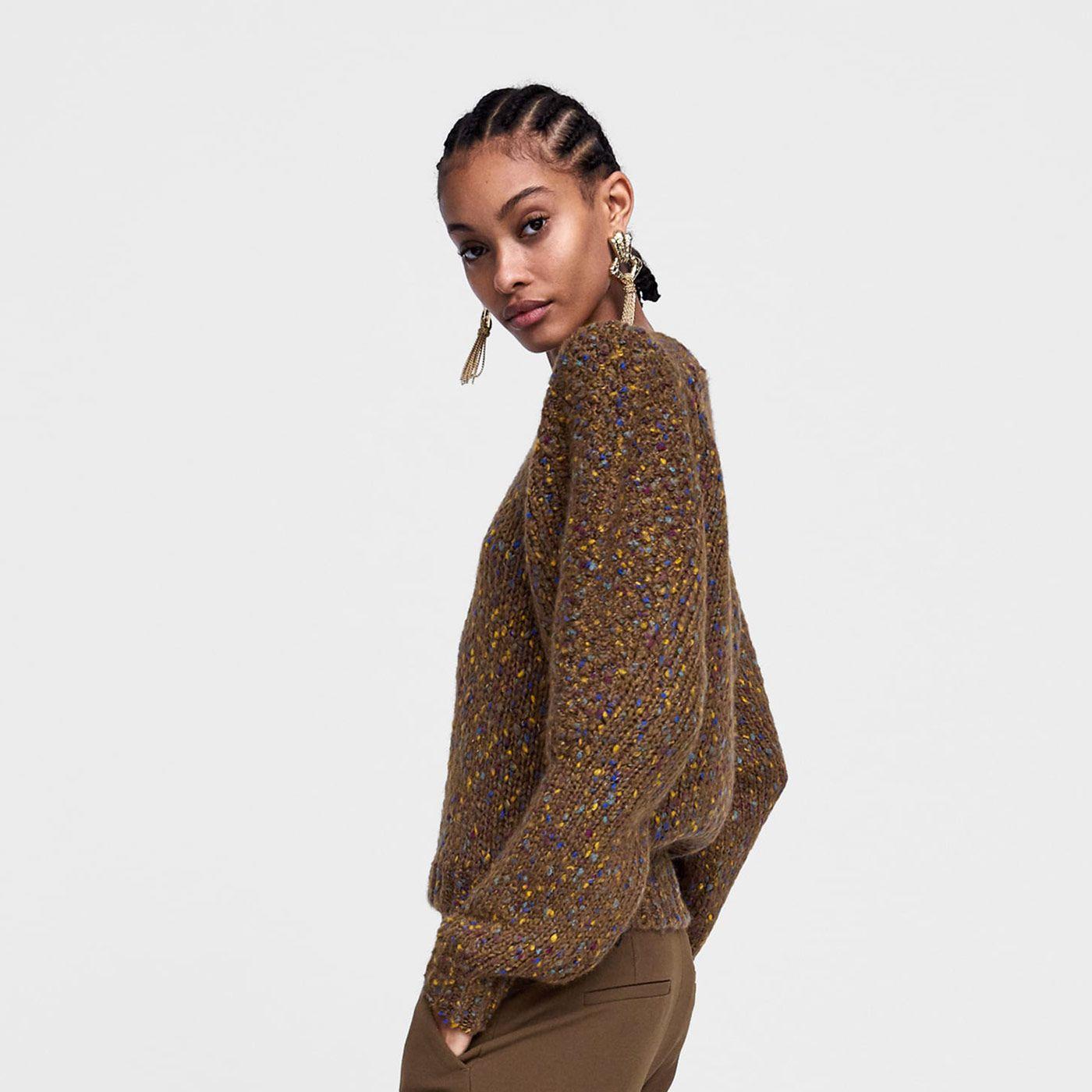 Este es el jersey marrón de Zara favorito de Instagram