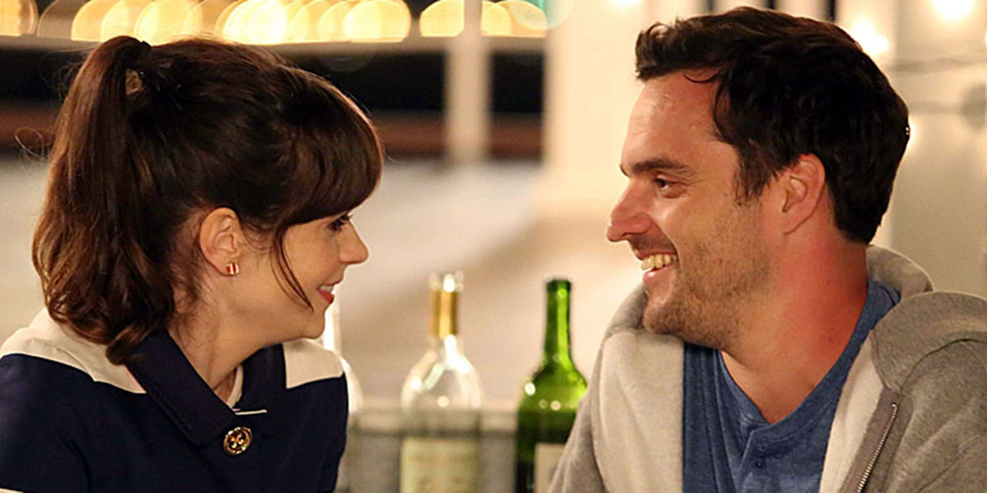 Jess and Nick in New Girl