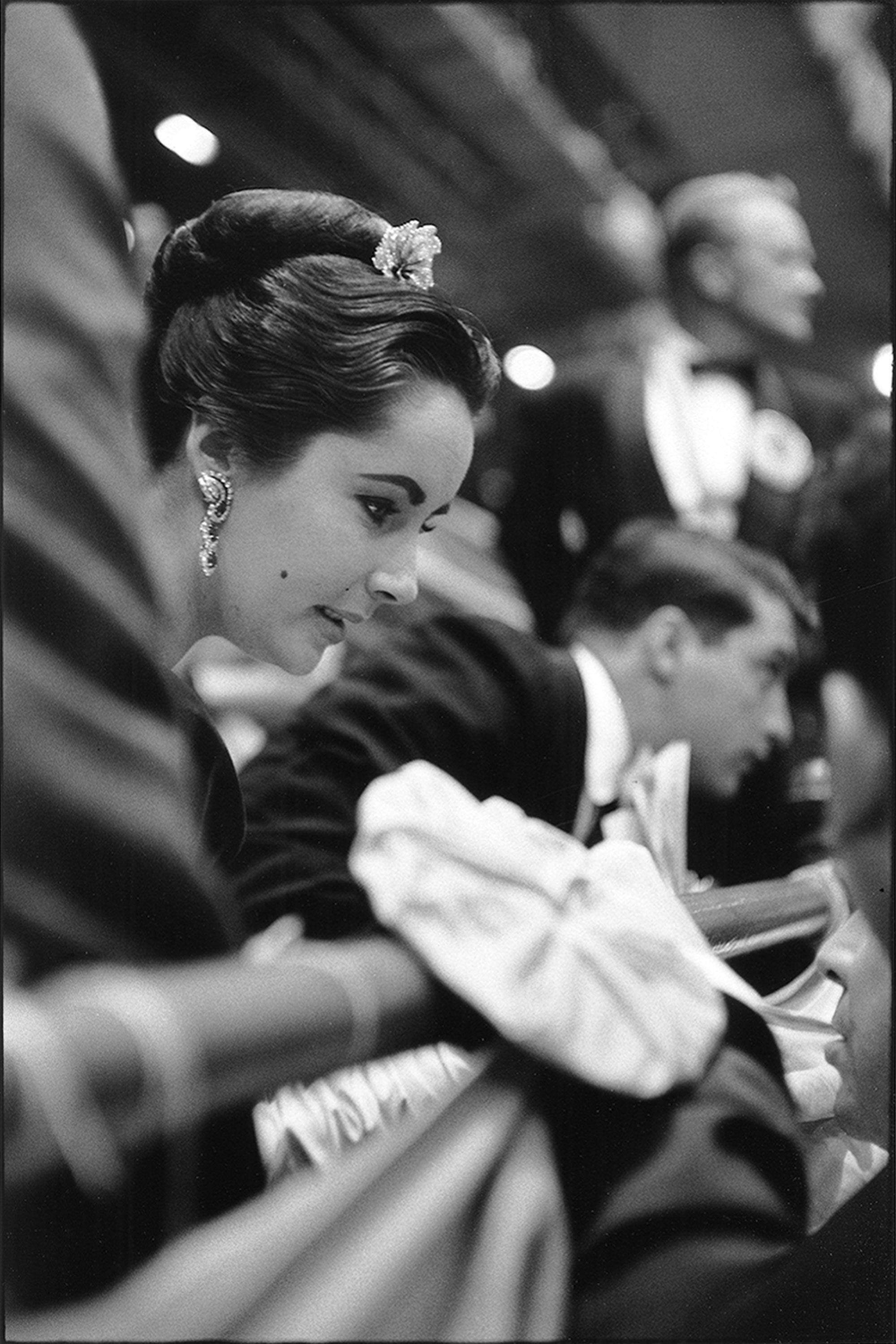 Elizabeth Taylor, New York, 1957, Jesse A. Fernandez
