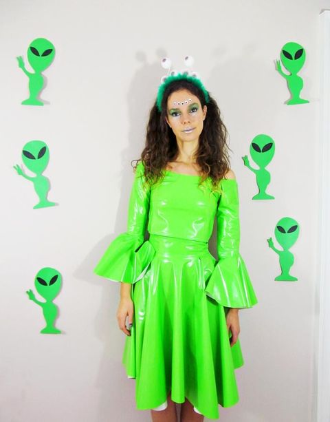 diy adult alien costume