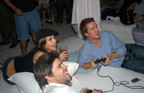 Sony Playstation 2 Game Over Party after the Super Bowl