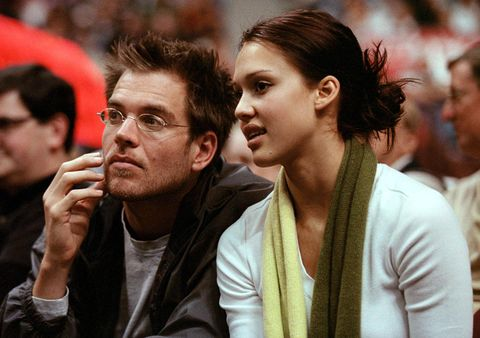 Jessica Alba (R) and Michael Weatherly (L), both a